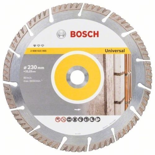 "Bosch 230mm 9"" Diamond 30% Cutting Brick Block Concrete Disc Blade DeWalt Makita"