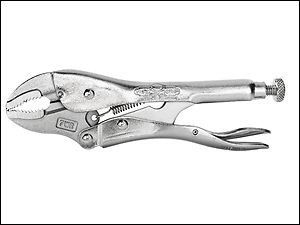 "Irwin Vise-Grip 7WRC Curved Jaw Locking Mole Grip Pliers Wire Cutter 175mm 7"" T0702EL4"