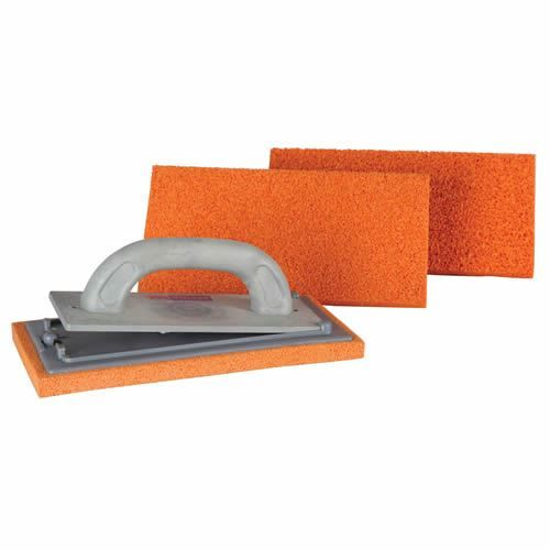 Refina CLIKCLAK Plastering Float Handle and 3 Sponge Kit Fine Med Coarse 261150